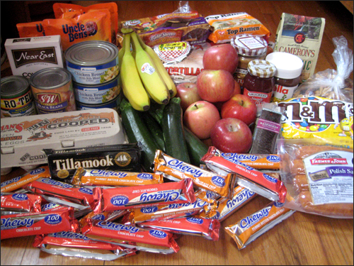 Backpacking Food No Cooking Backpack Camping Pinterest Source For Days When We Have More Flexibility Ability