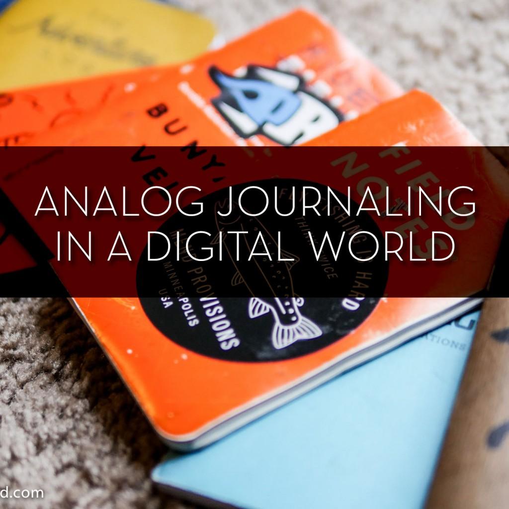 Analog Journaling